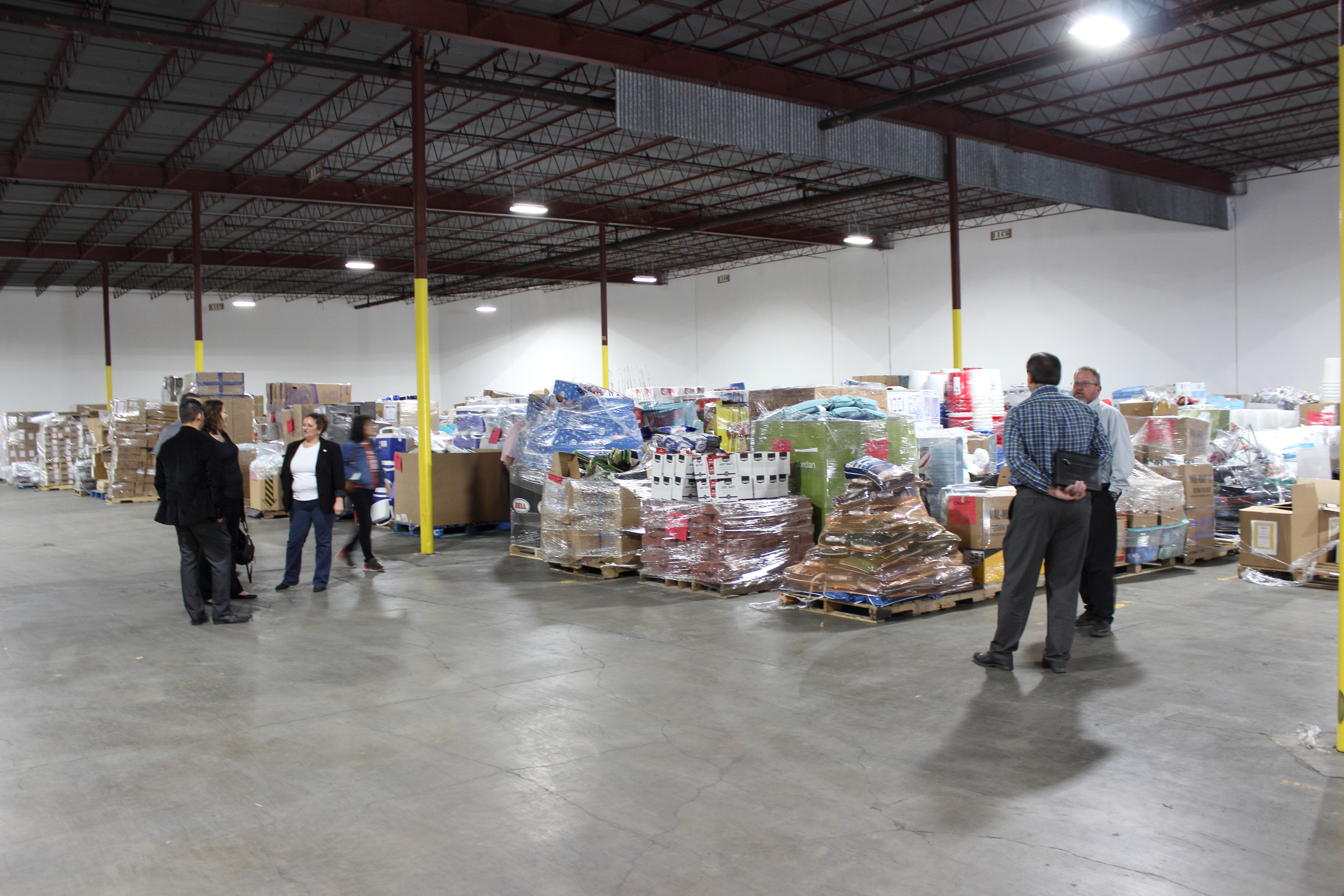 Salvation Army Dispensary Warehouse Walmamrt Donation_0012.JPG