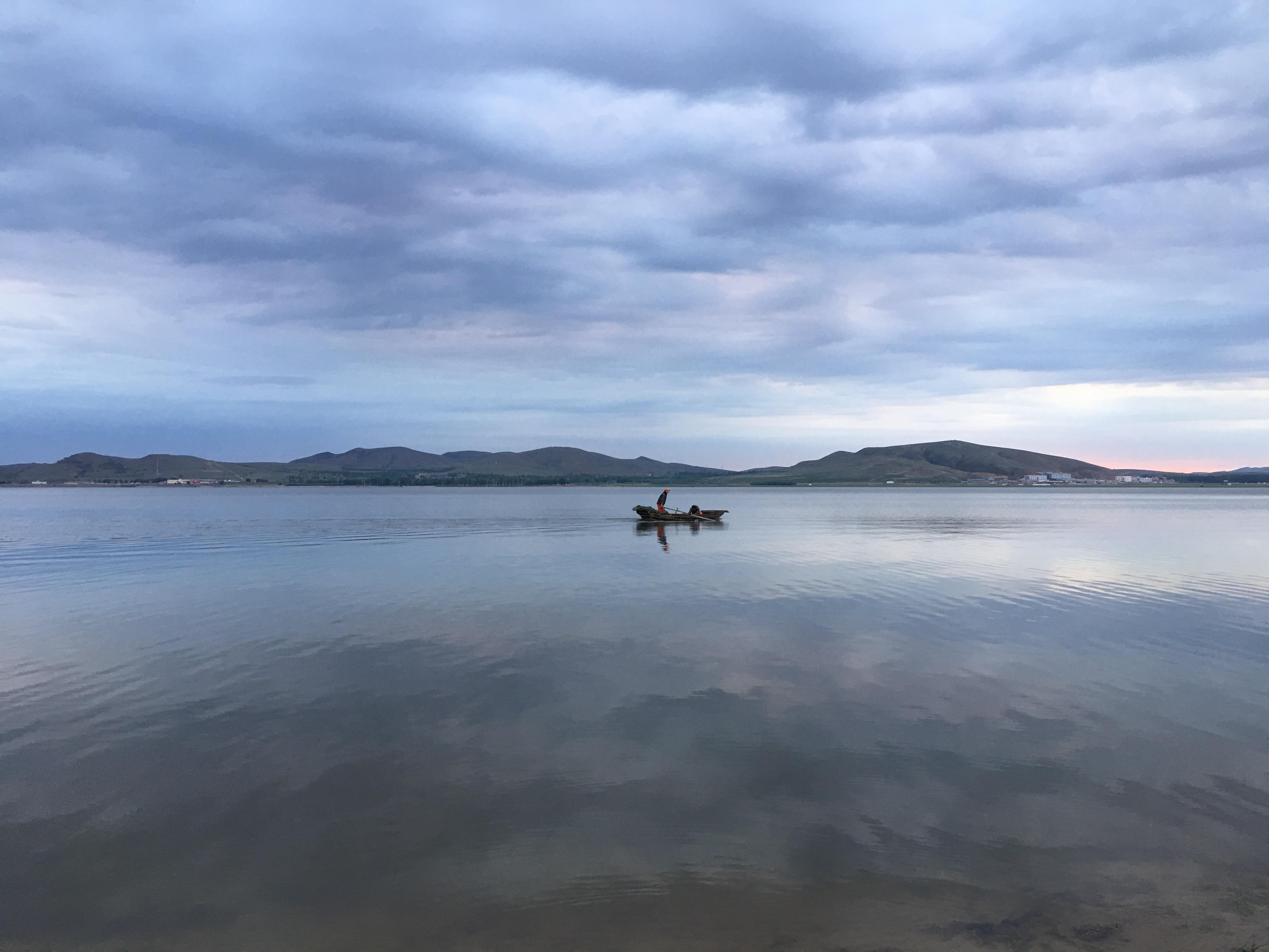 日出印象-闪电湖