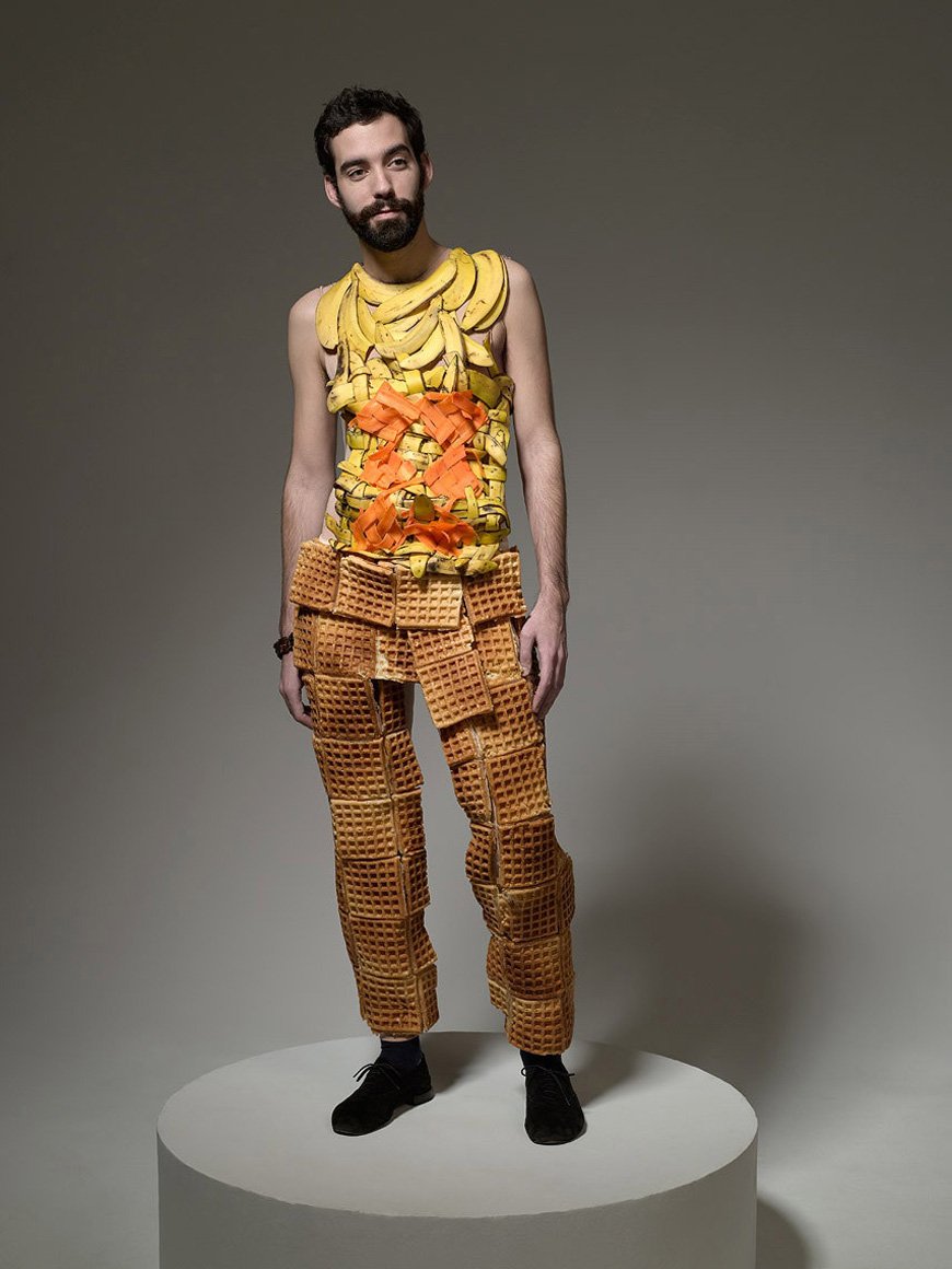 Food fashion by Ted Sabarese