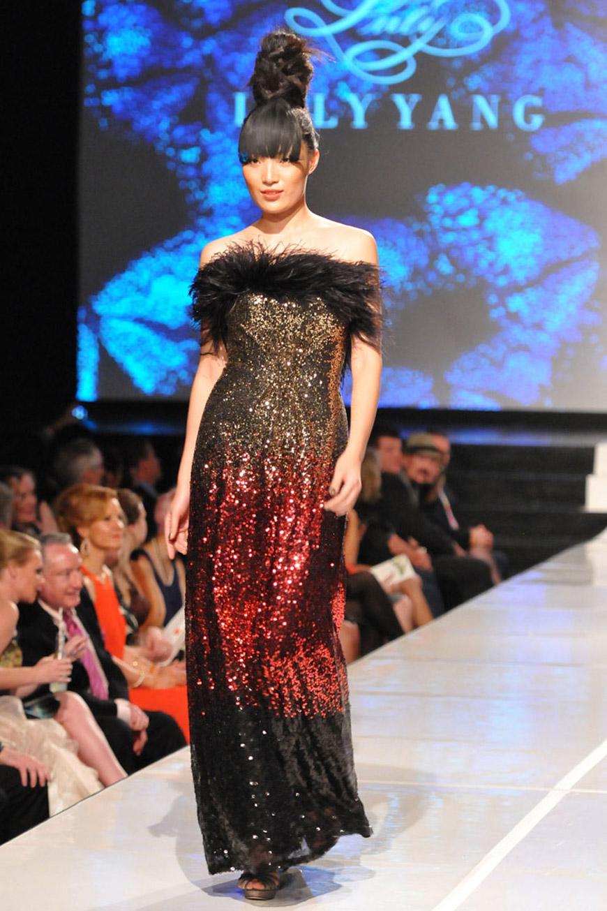 Lush dress by Luly Yang