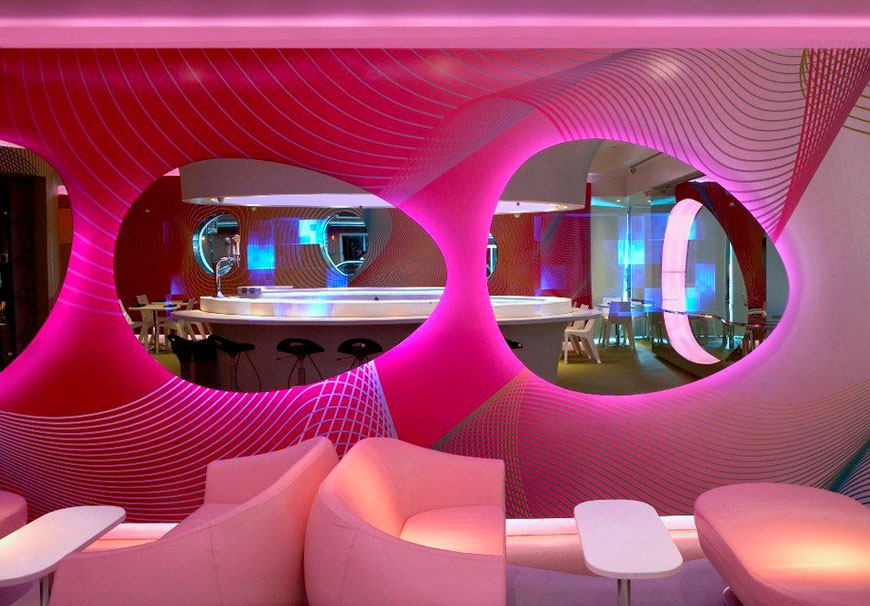 Neonscope the pop colors of karim rashid - Decoration interieur style atelier ...