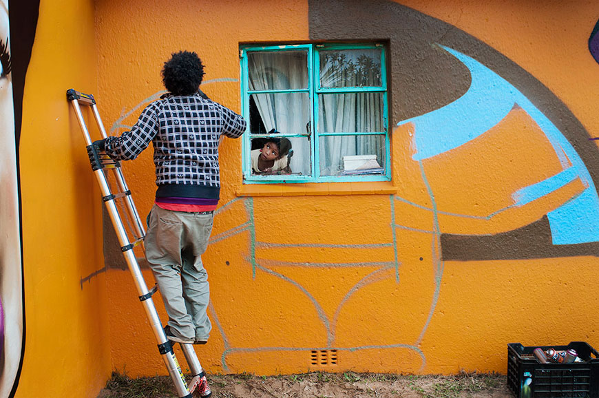 Once Upon a Town project in South Africa