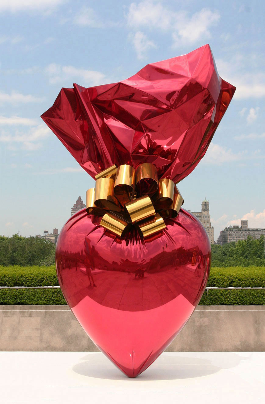 Coloring book by jeff koons - Sacred Heart By Jeff Koons