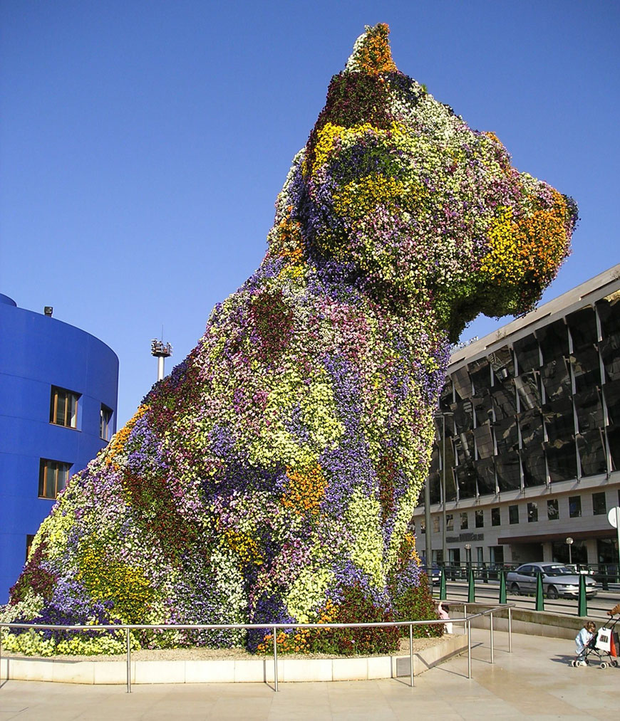 Coloring book by jeff koons - Puppy By Jeff Koons