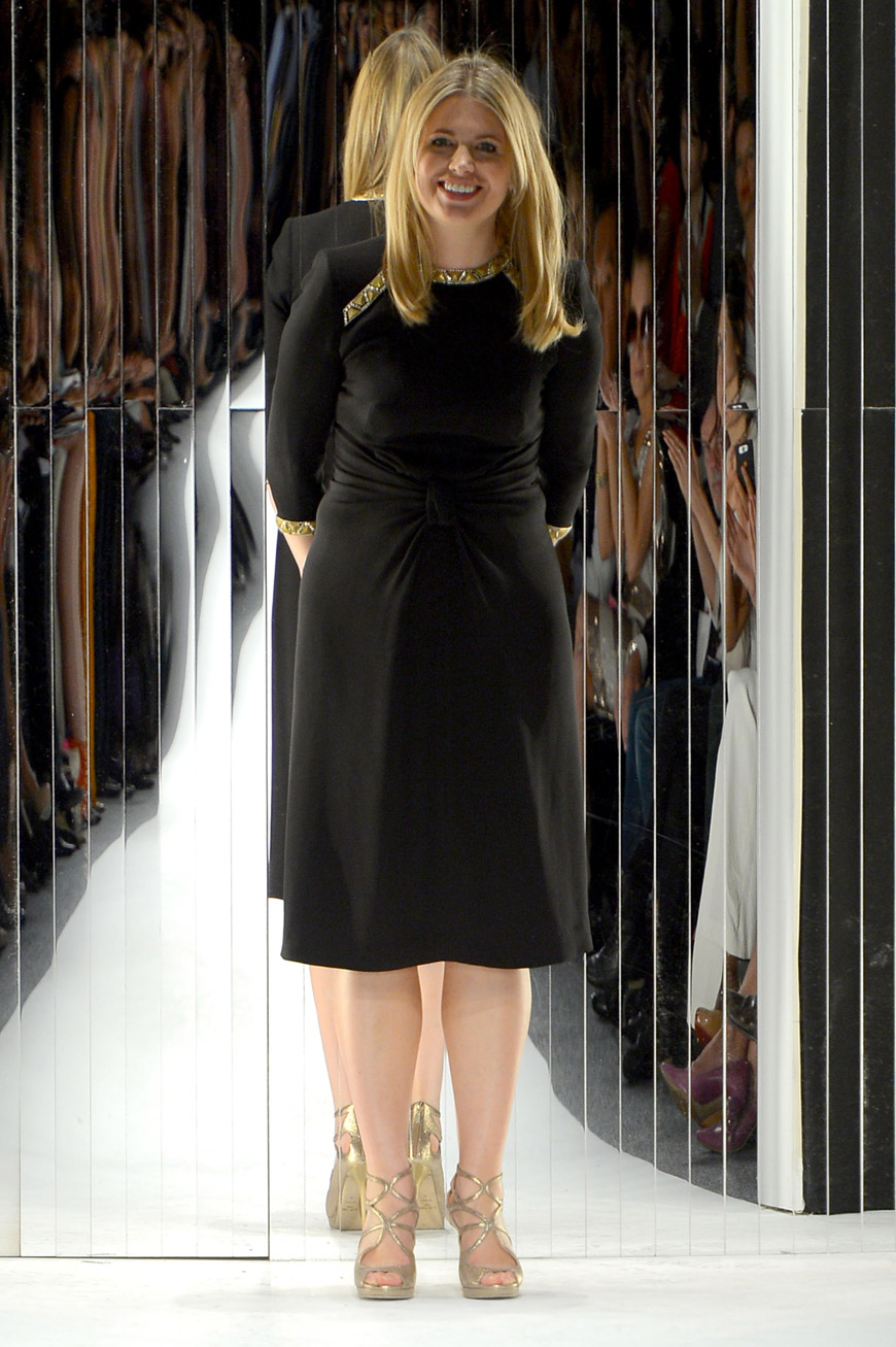 Jenny Packham at the runway during the Spring 2013 presentation
