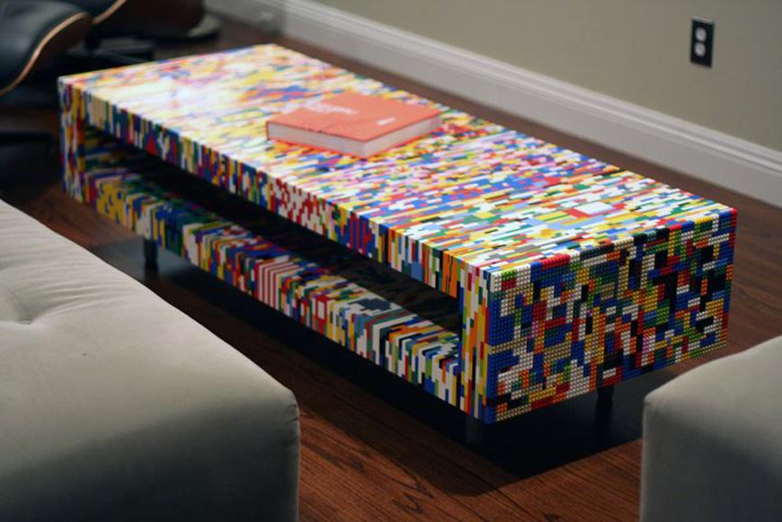 DIY Lego coffee table