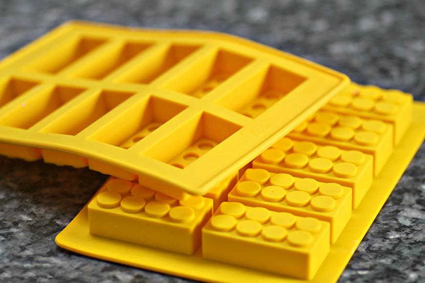 Ice cube tray by Lego