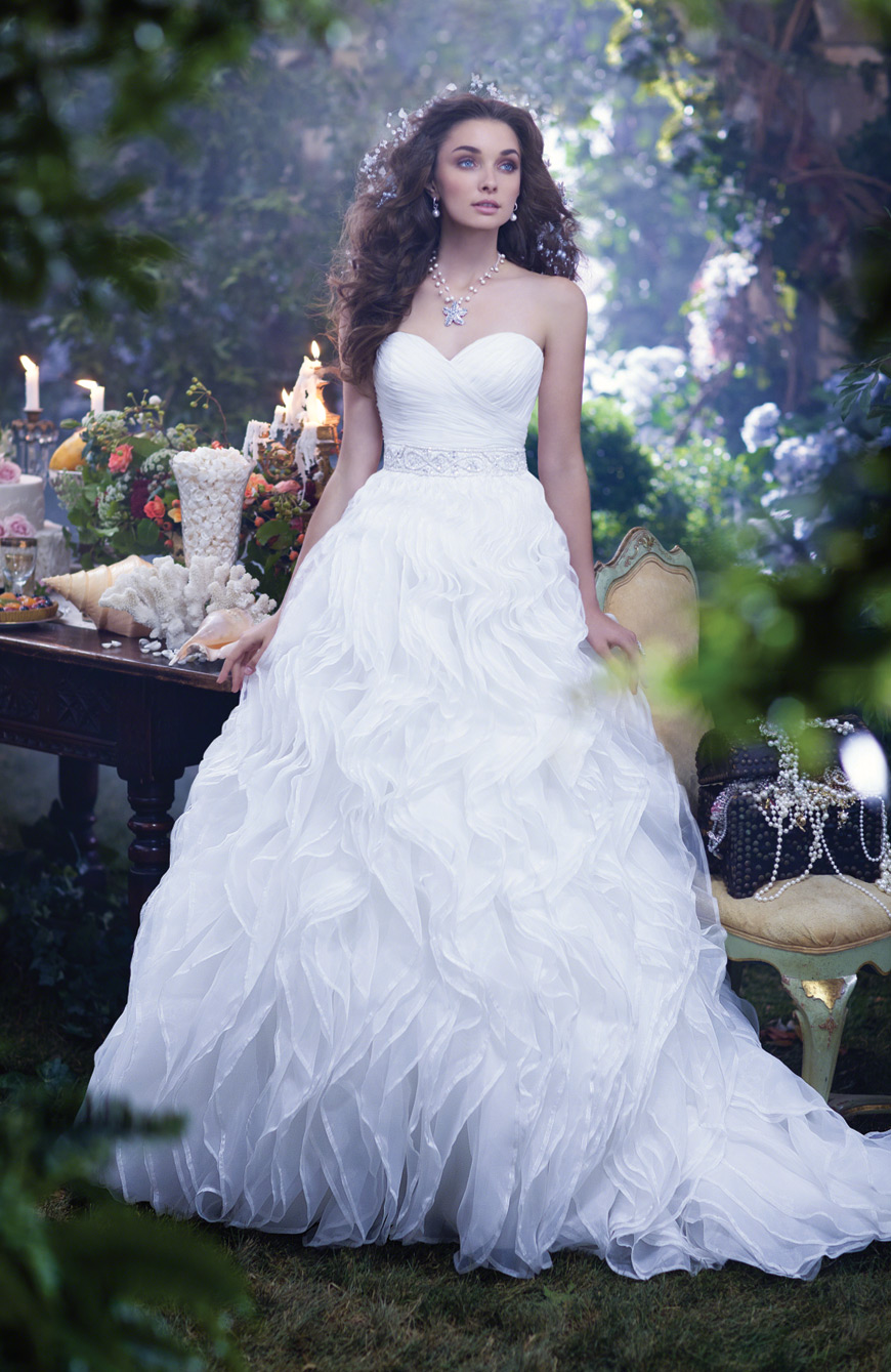 NEONSCOPE - Dreamy Disney Princesses by Alfred Angelo