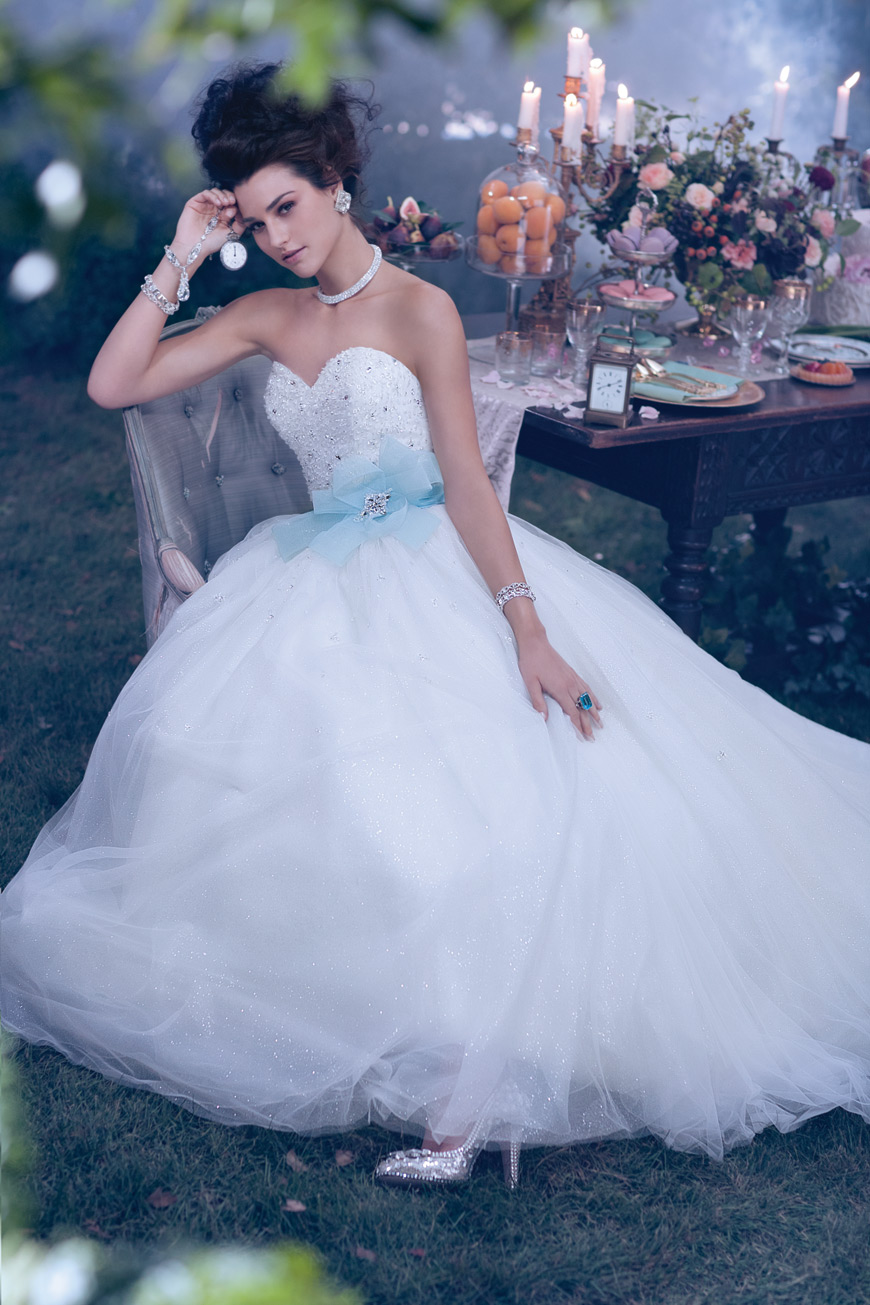 Neonscope dreamy disney princesses by alfred angelo for Wedding dress disney collection