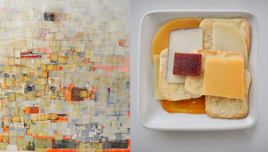 Mark Bradford art dessert