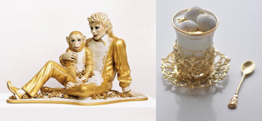 Jeff Koons art dessert