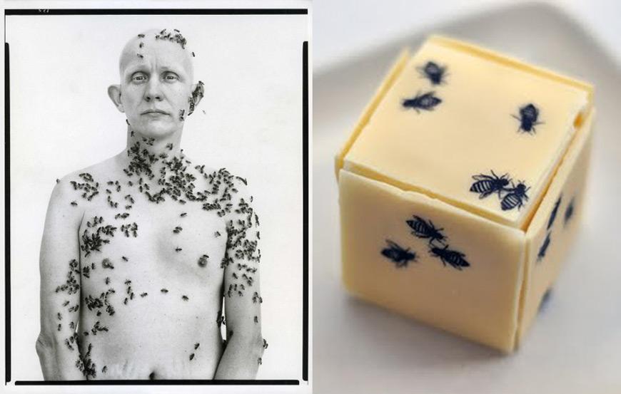 Richard Avedon art dessert