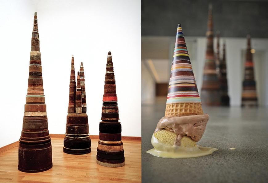 Tony Cragg art dessert