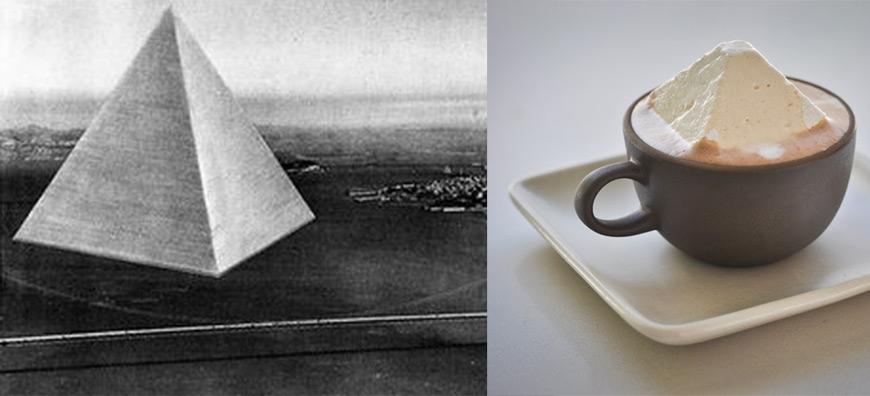 Buckminster Fuller art dessert