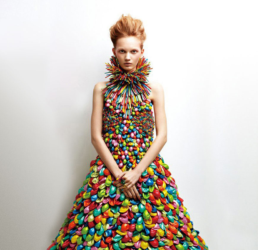 balloon dress by Daisy Balloon