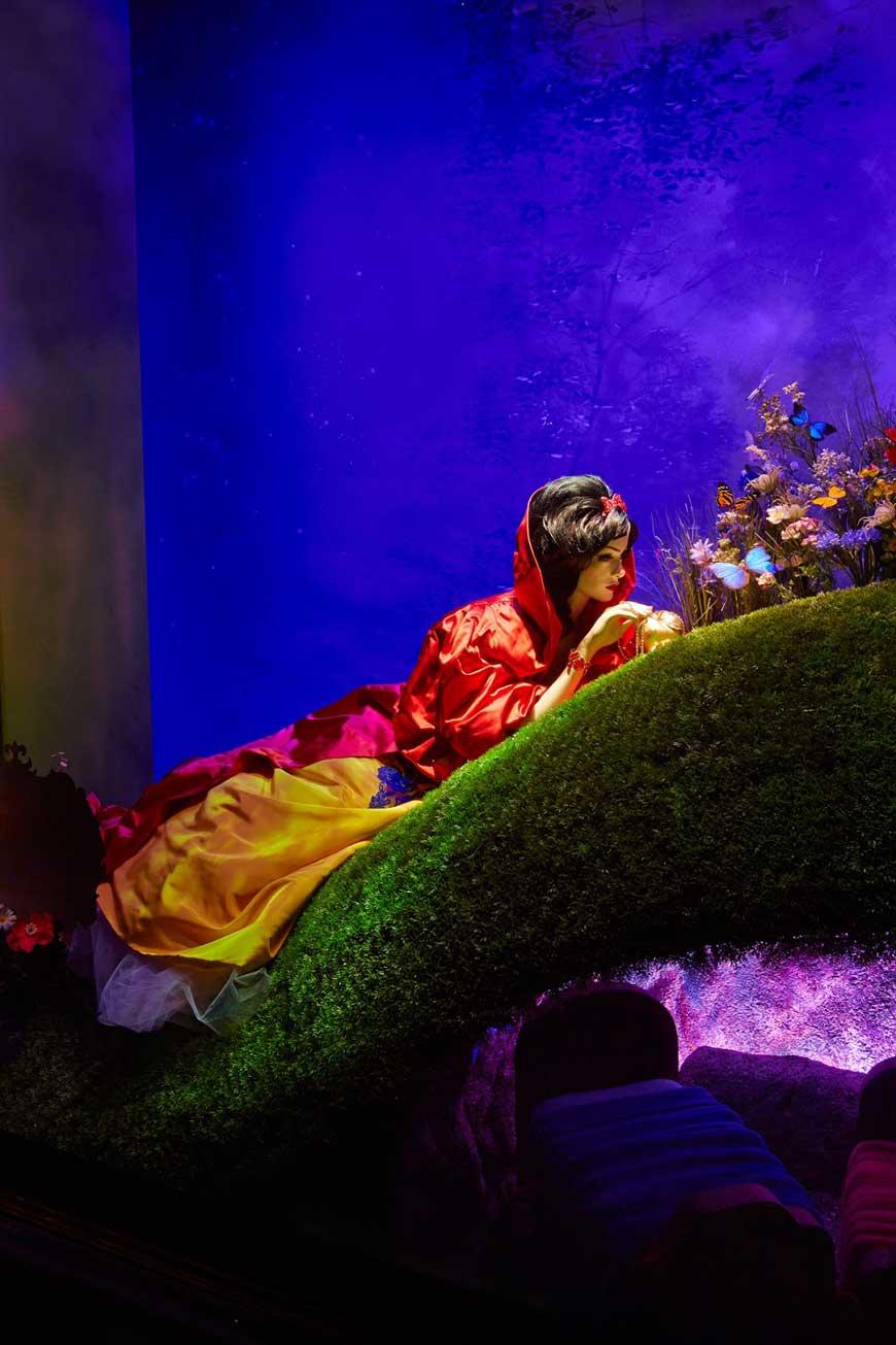 Disney Snow White by Oscar de la Renta for Harrods