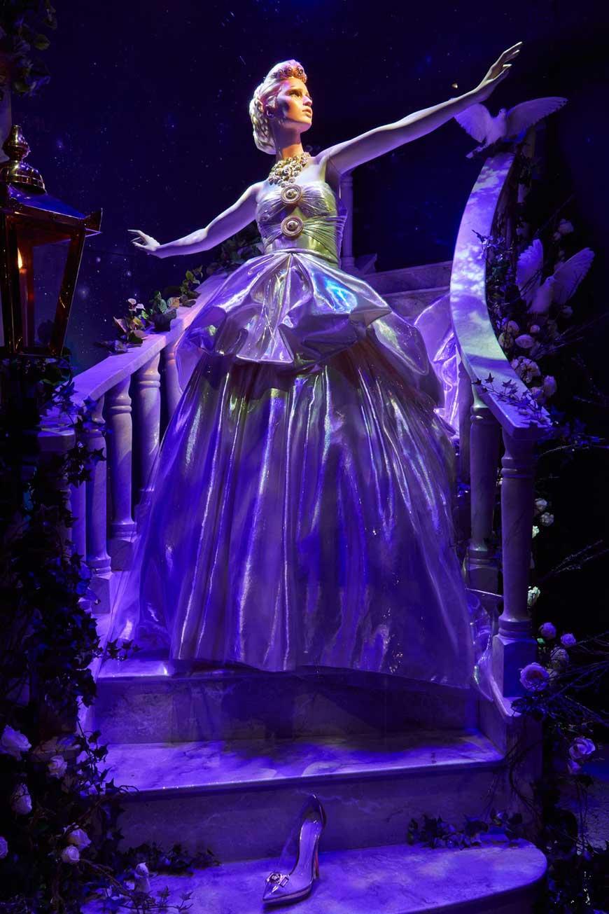 Disney Cinderella by Versace for Harrods