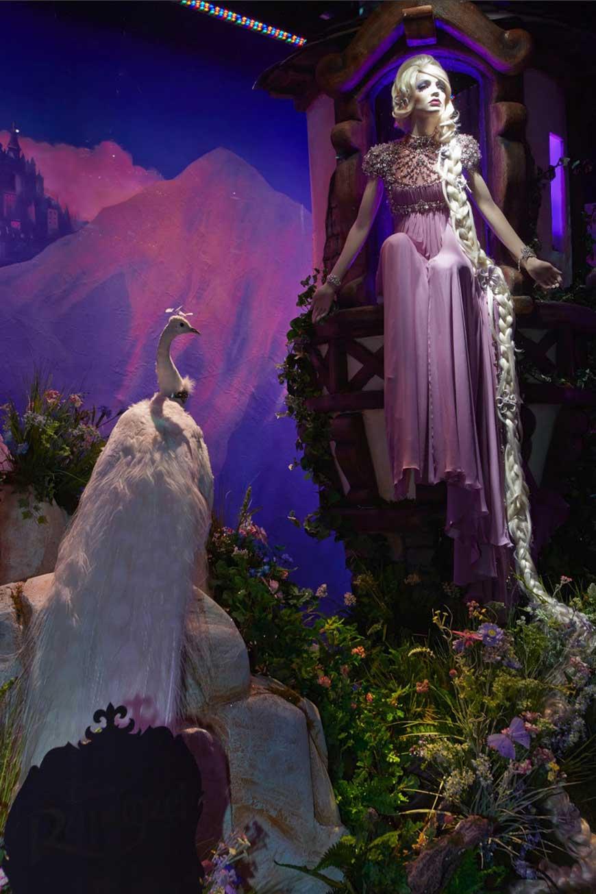 Disney Rapunzel by Jenny Packham for Harrods