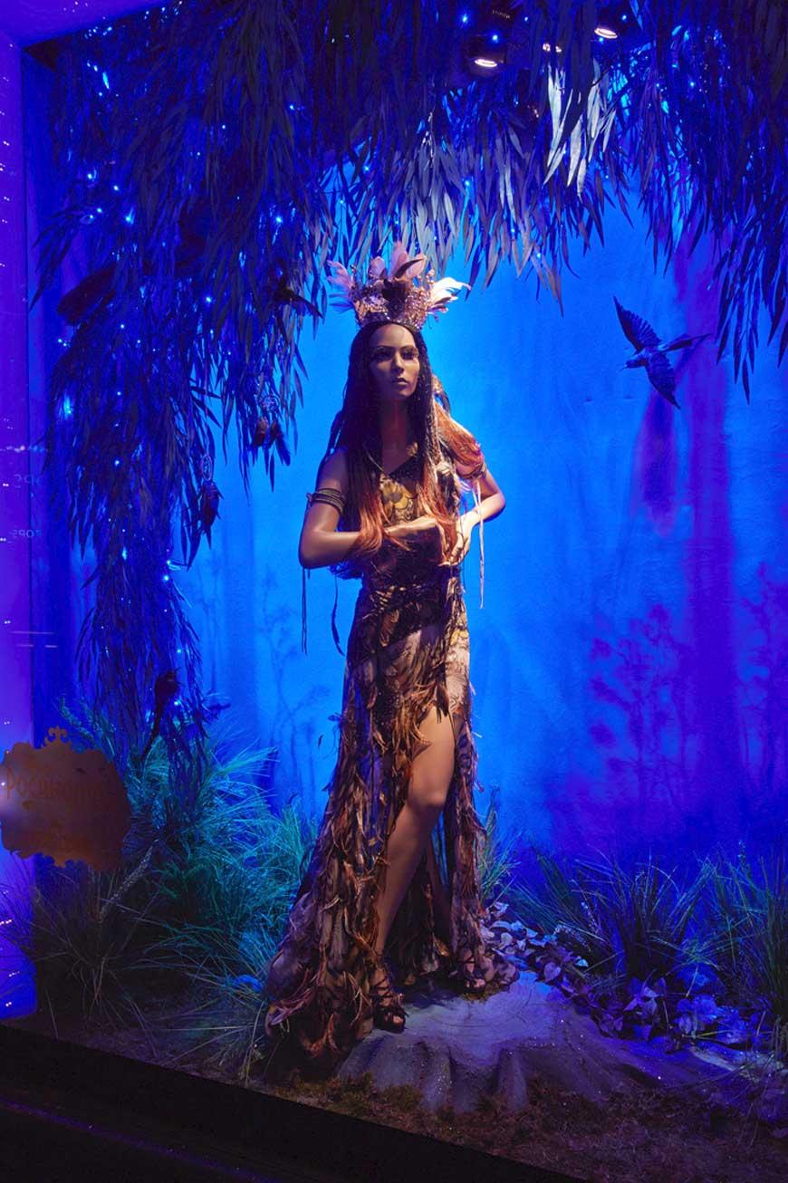 Disney Pocahontas by Roberto Cavalli for Harrods