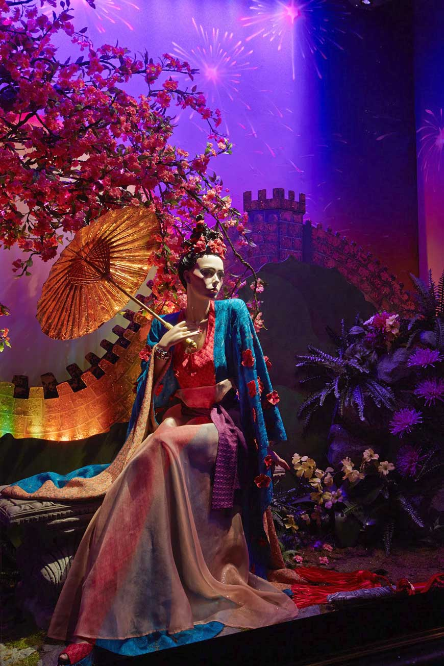 Disney Mulan by Missoni for Harrods