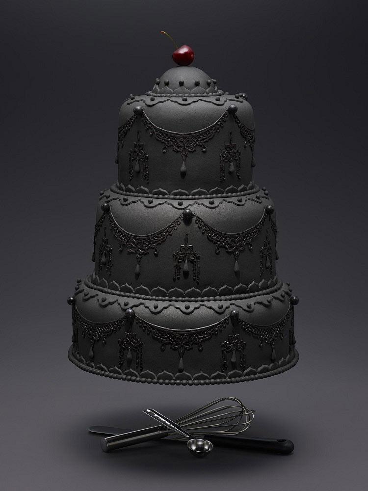 Flying Cake by Alain Cornu