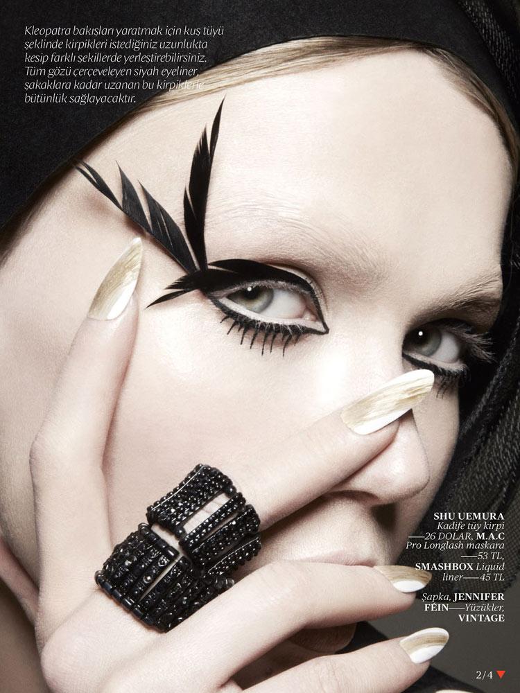 Model: Anastasia Bondarenko / Photo: Jamie Nelson / Vogue Turkey / February 2013