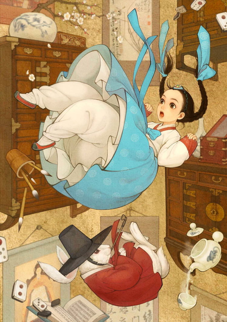 Alice's Adventures in Wonderland by Nayoung Wooh