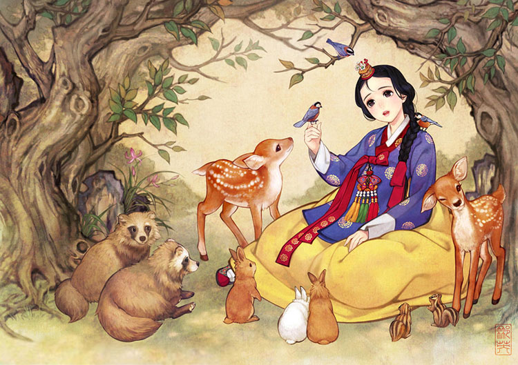 Snow White by Nayoung Wooh