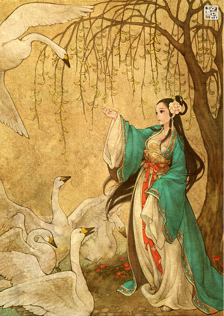 The Wild Swans by Nayoung Wooh