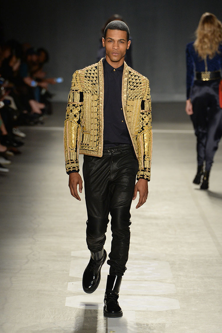 Balmain X H&M collection