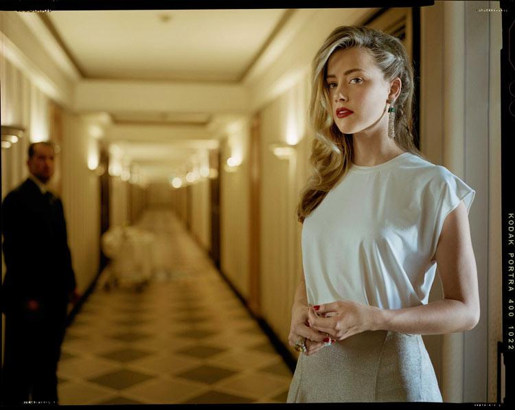 Amber Heard by Benoit Peverelli for Madame Figaro, June 2014
