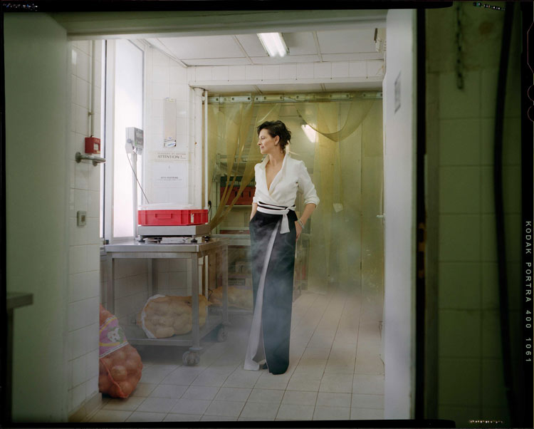 Juliette Binoche by Benoit Peverelli for Madame Figaro, June 2014