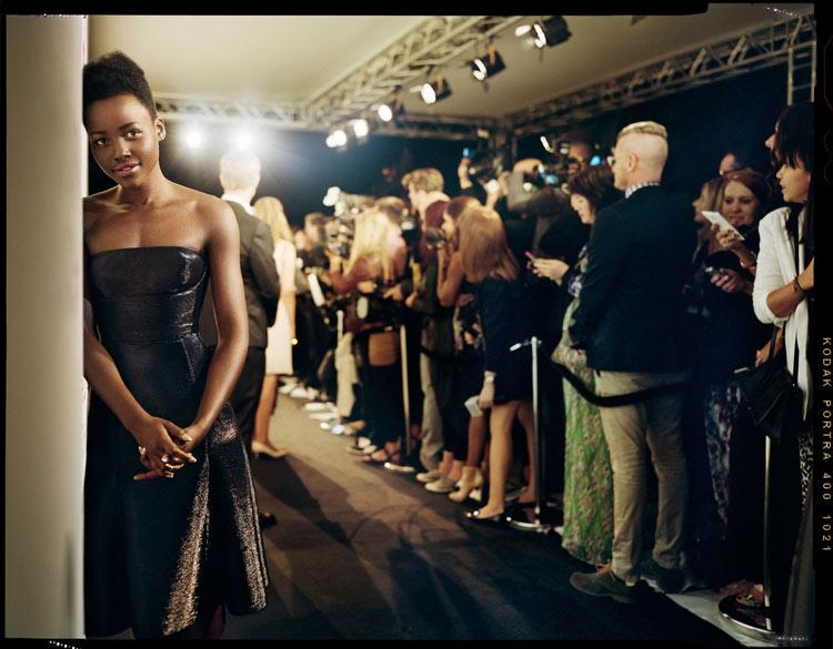 Lupita Nyong'o by Benoit Peverelli for Madame Figaro, June 2014