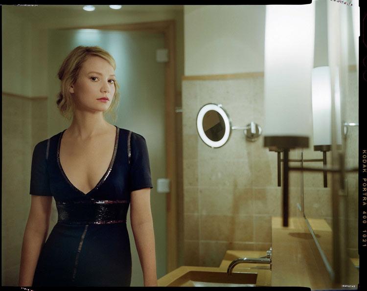 Mia Wasikowska by Benoit Peverelli for Madame Figaro, June 2014