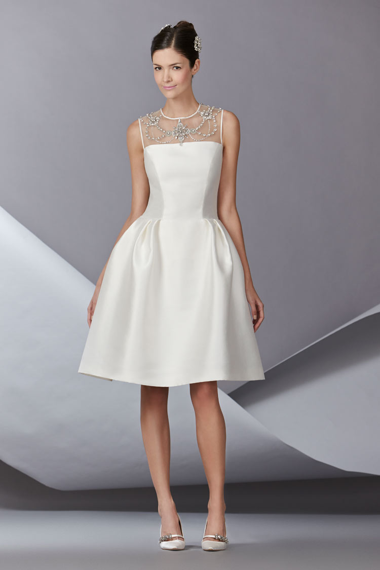 Carolina Herrera Bridal Fall 2014