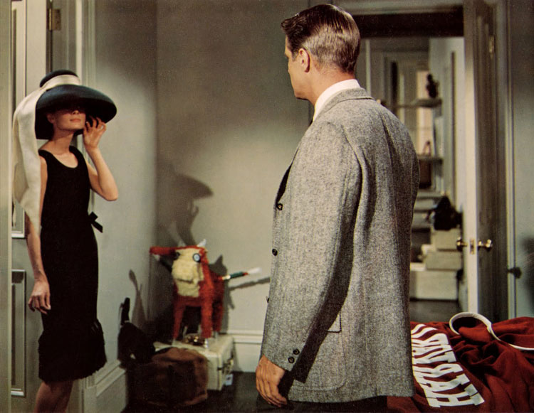 9e548281ff23 Audrey Hepburn and George Peppard in Breakfast at Tiffany s