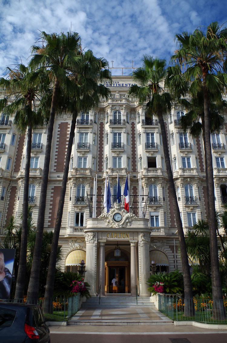 The InterContinental Carlton Hotel, Cannes