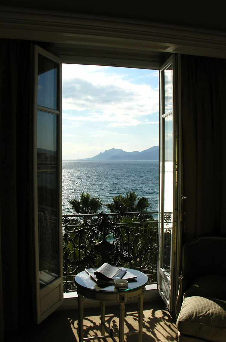 The View from the InterContinental Carlton Hotel, Cannes