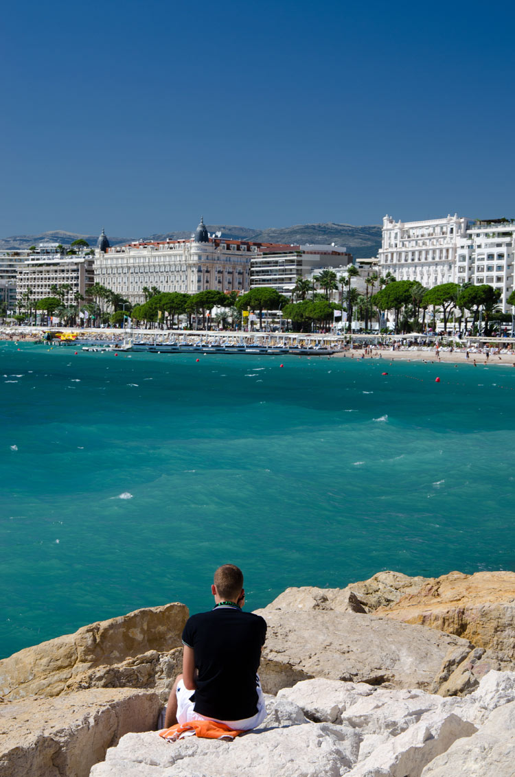 Seaside in Cannes