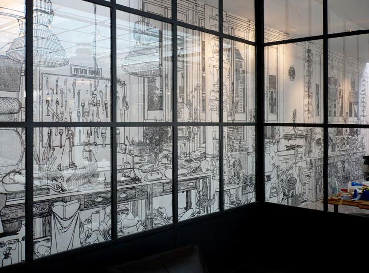 Fontana Milano Shop, Milan, 2009, by Charlotte Mann