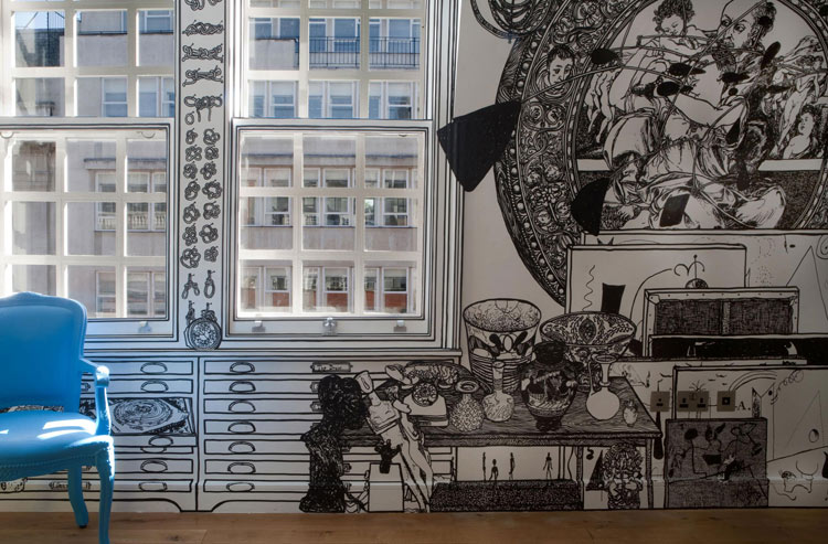 Holborn Apartment, London, 2009, by Charlotte Mann