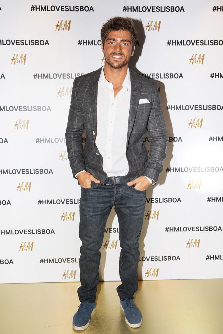 Lourenço Ortigão wearing H&M