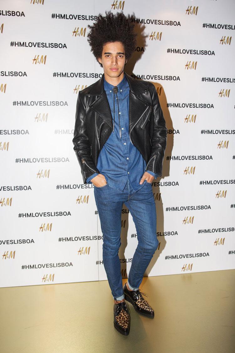 Luís Borges wearing H&M