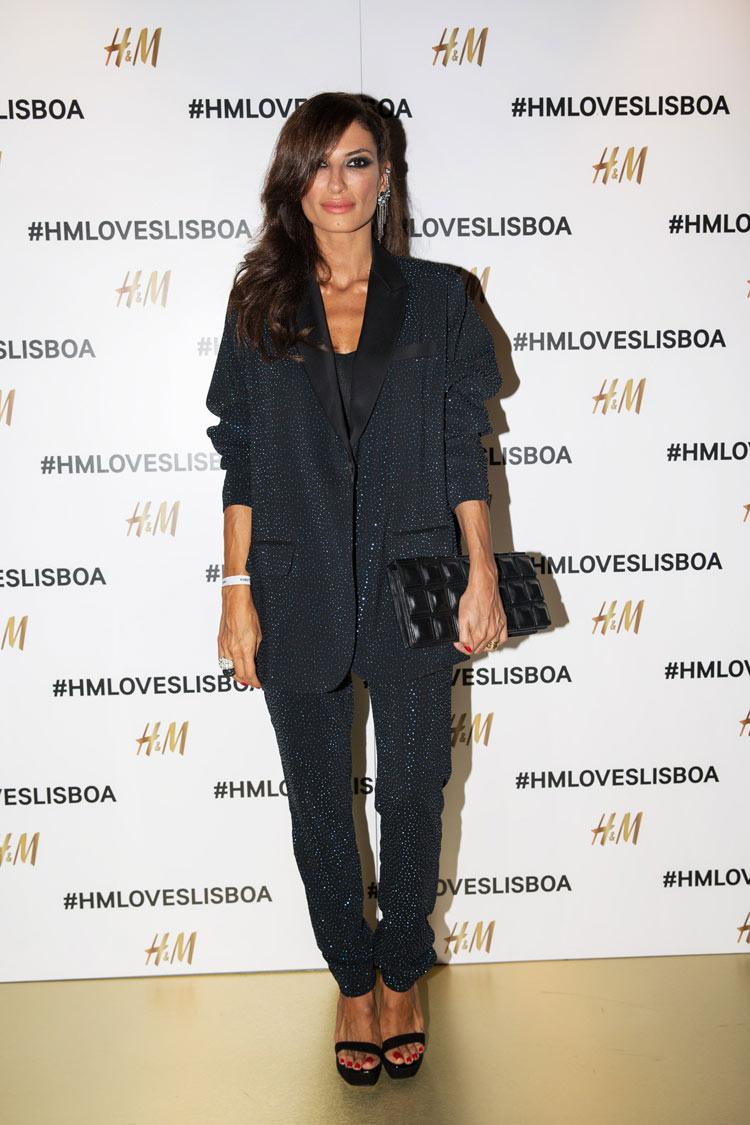 Raquel Prates wearing H&M Studio A/W 2014