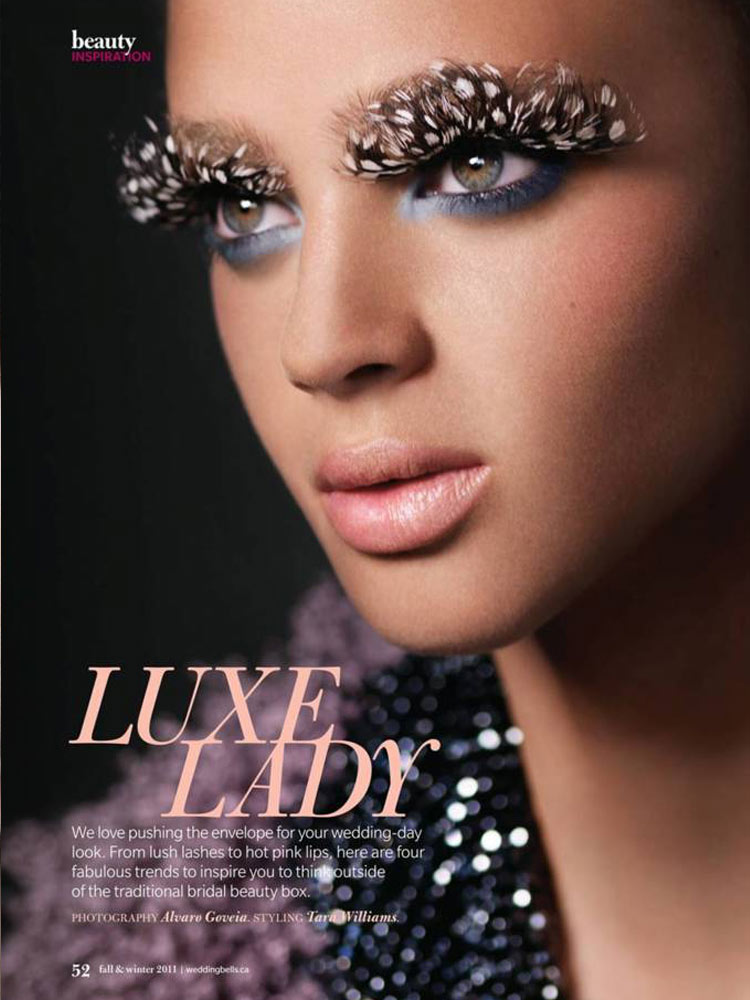 Model: Jacqueline Summers / Photo: Alvaro Goveia / Wedding Bells / Fall 2011