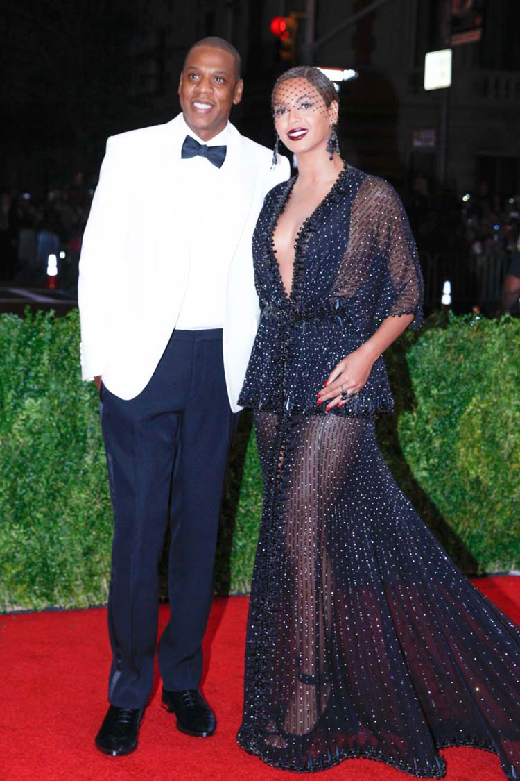 Jay Z and Beyonce at the MET Gala 2014