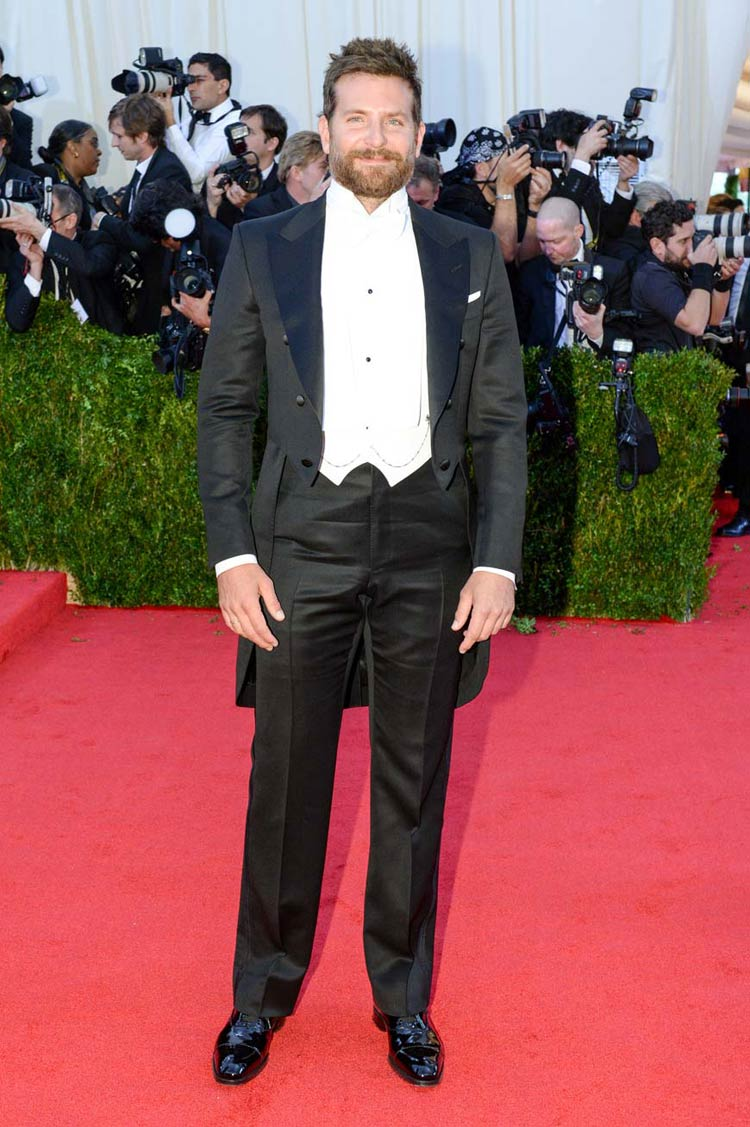 Bradley Cooper at the MET Gala 2014