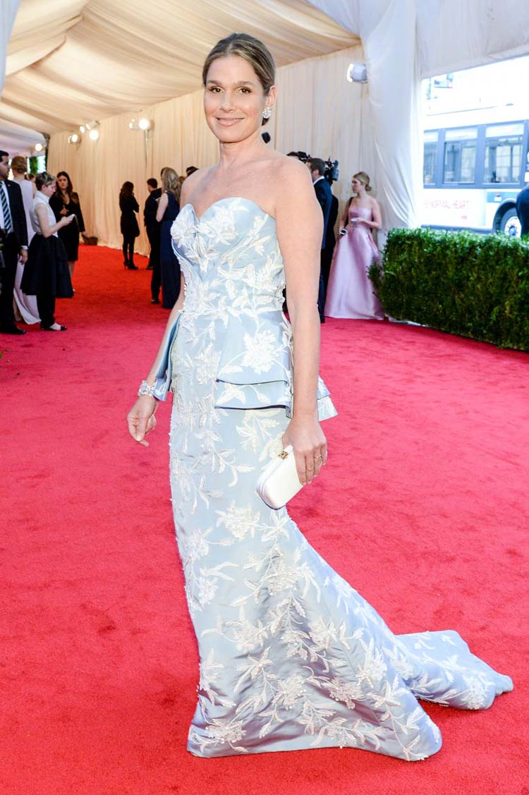 Aerin Lauder at the MET Gala 2014