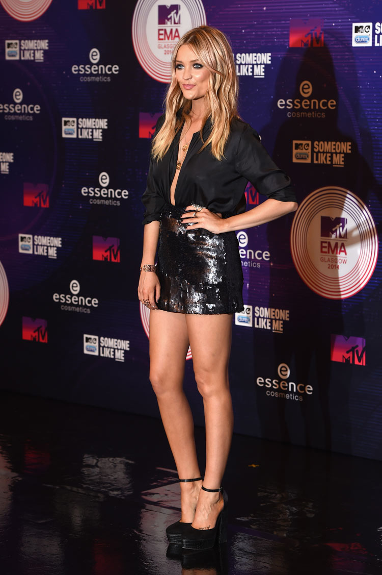 Laura Whitmore at the 2014 MTV EMA's