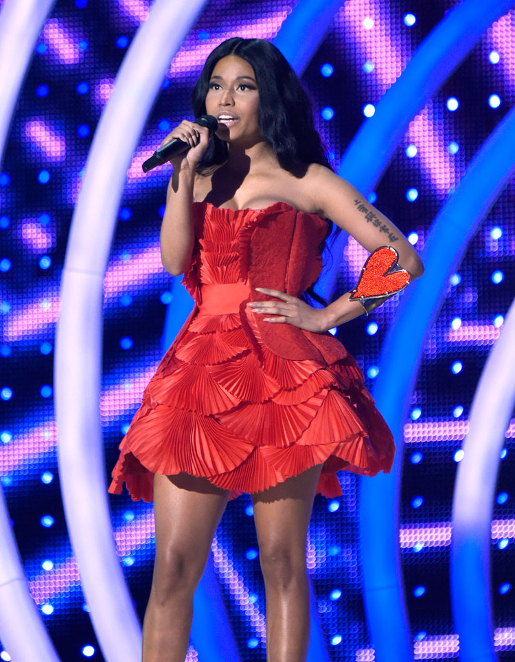 Nicki Minaj at the 2014 MTV EMA's